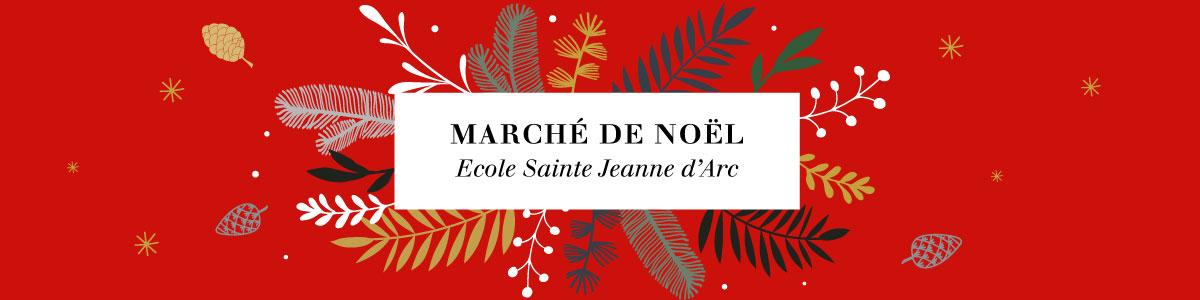 Marché de Noël de Sainte Jeanne d'Arc Logo